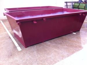 4m3 Skip Bins - Painted