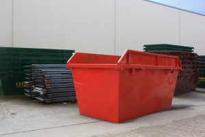 5m3 Skip Bin - with Hungry Boards