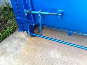 Hook Lift Bin - Ratchet Tensioner