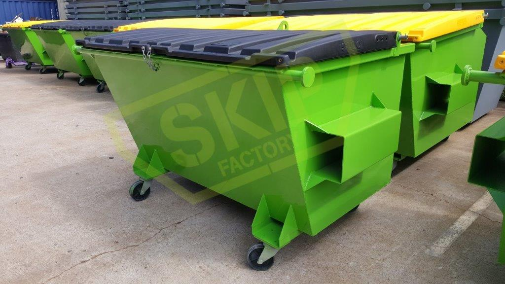 Rear Lift Bins 2 - Skip Factory