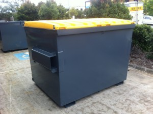 3m3 Front Lift Bin - Painted