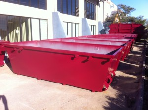 4m3 Skip Bins - with Tipping Bars