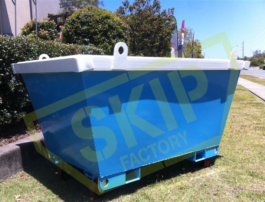 1.5m crane rated skip bin