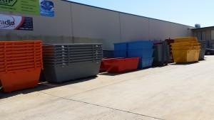 Skip Factory Stocked Bins