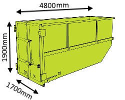 12m3-skip-bin-with-barn-door-dimensions
