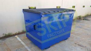 3m3 Front Lift Bin - Skip Factory