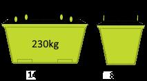 1.5m3 Crane Bin - Skip Factory.