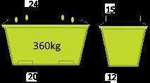 3m3 Crane Bin - Skip Factory.